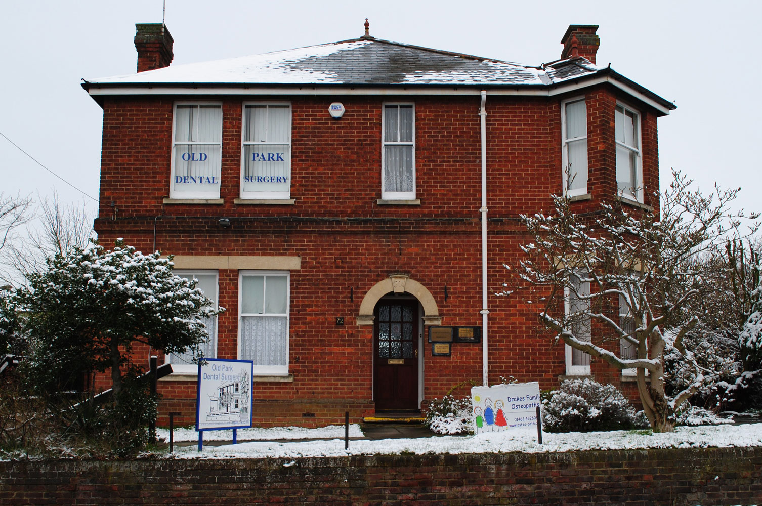 Hitchin Osteopathic Clinic Front
