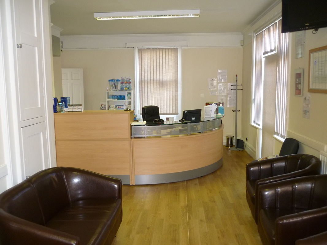 Hitchin Osteopath Reception
